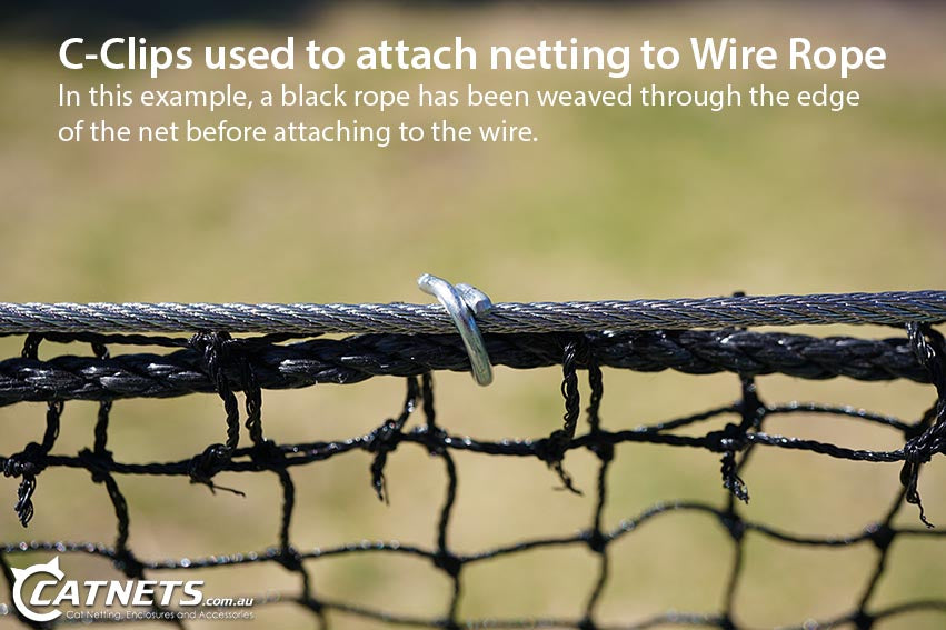 Wire Rope Fastening Clips Catnets