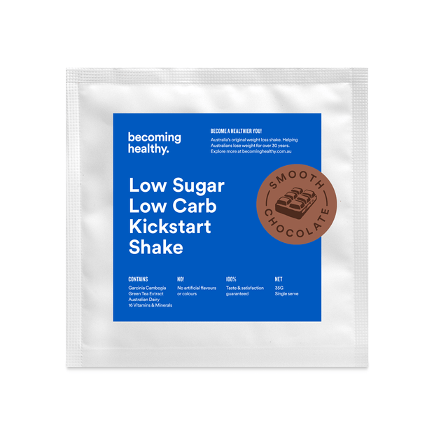 Smooth Chocolate - Low Sugar Low Carb Kickstart Shake - Becoming Healthy