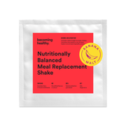 Banana Malt - Nutritionally Balanced Meal Replacement Shake - Becoming Healthy