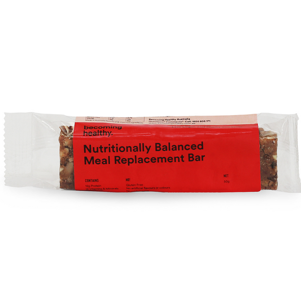 Nutritionally Balanced Meal Replacement Bar - Becoming Healthy