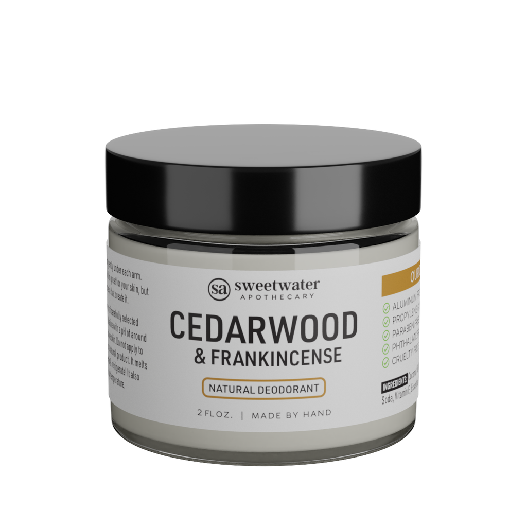 Cedarwood & Frankincense Natural Deodorant