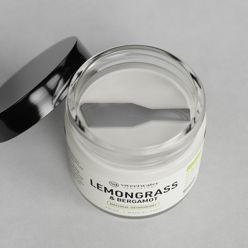 Lemongrass & Bergamot Natural Deodorant