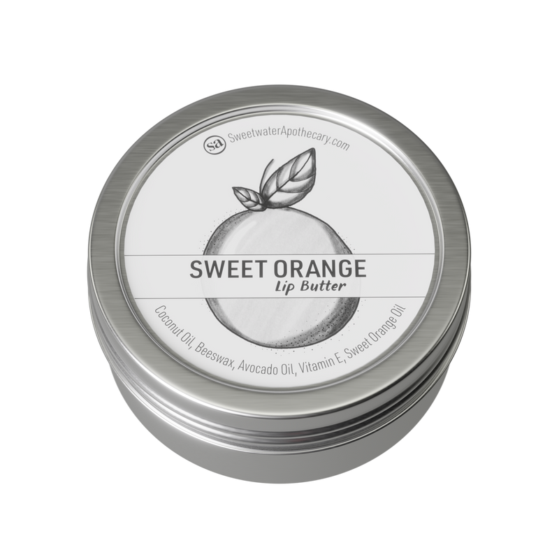 Sweet Orange Lip Butter