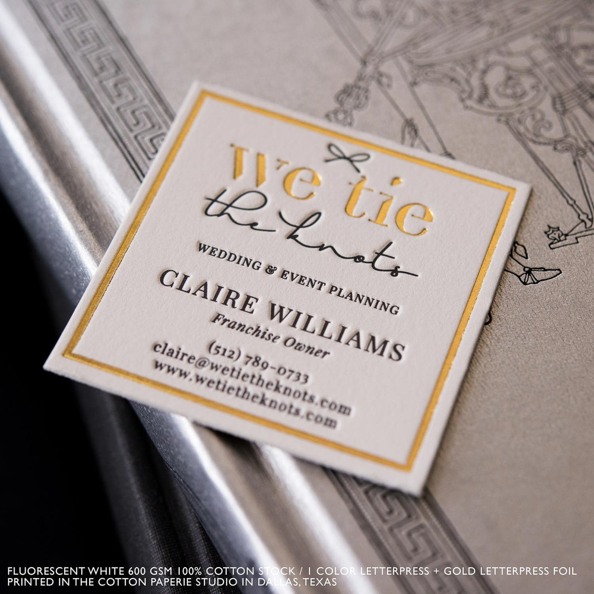 Cotton paperie eco friendly letterpress luxury printing shop letterpress cards colourmoves
