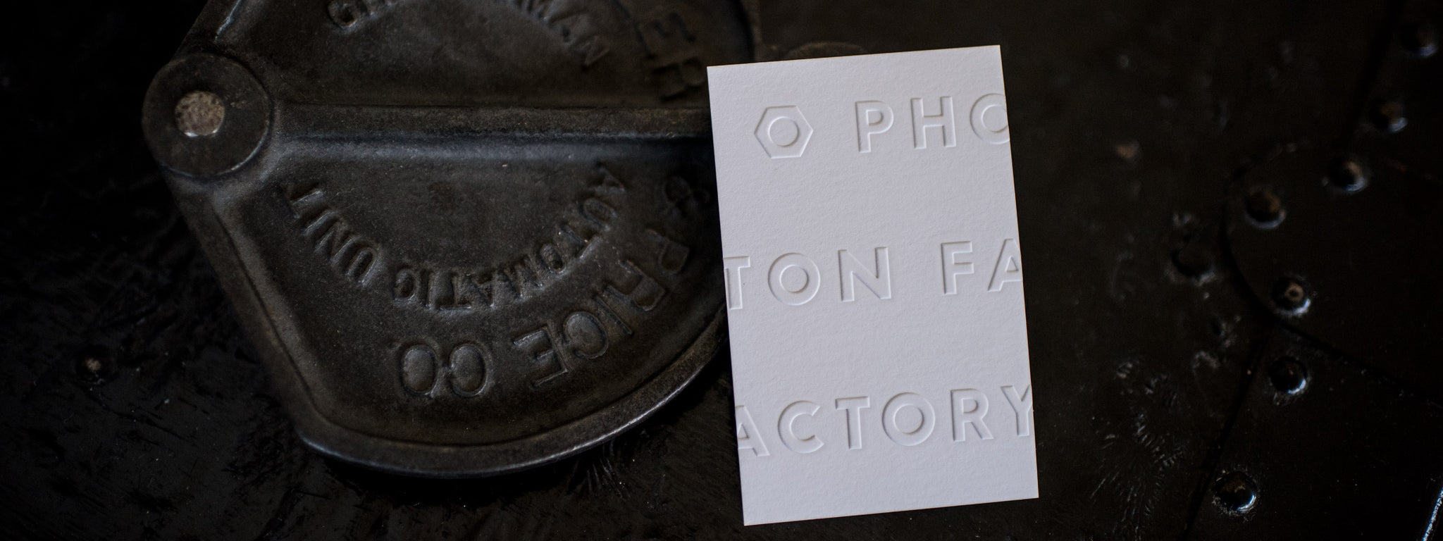 Cotton paperie eco friendly letterpress luxury printing letterpress business cards reheart Gallery