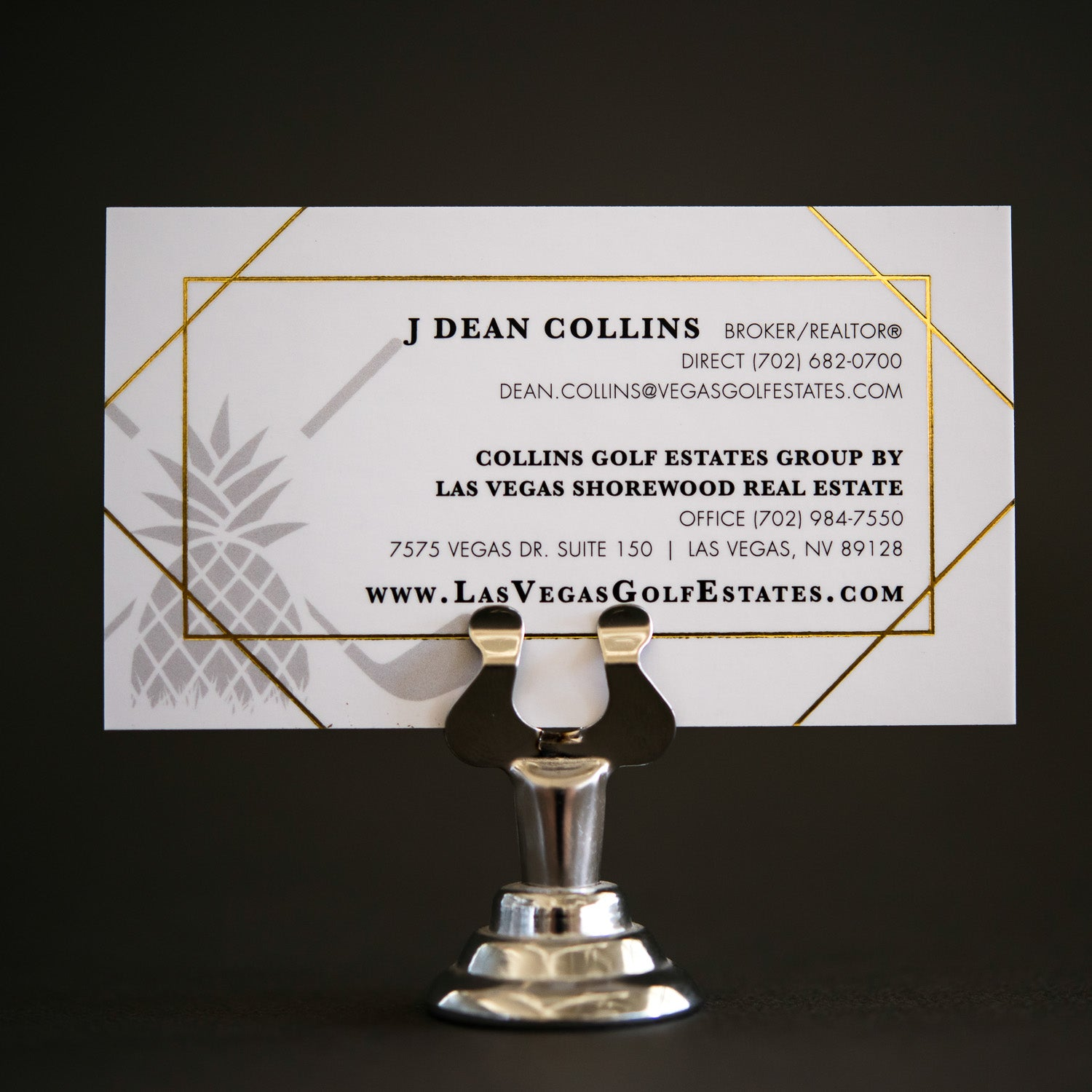 DIGITAL FOIL BUSINESS CARDS