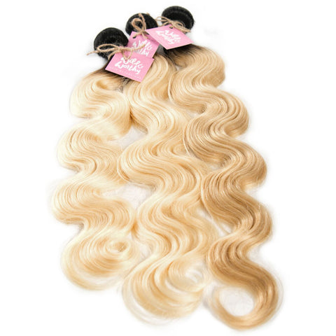 Dark Root Russian Blonde Body Wave