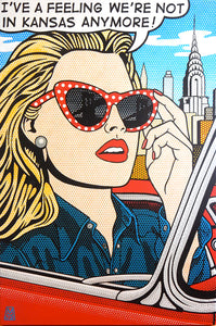 "DOTTY IN NEW YORK 45""x30"""""