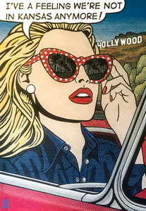 "DOTTY IN HOLLYWOOD 48""x32"""