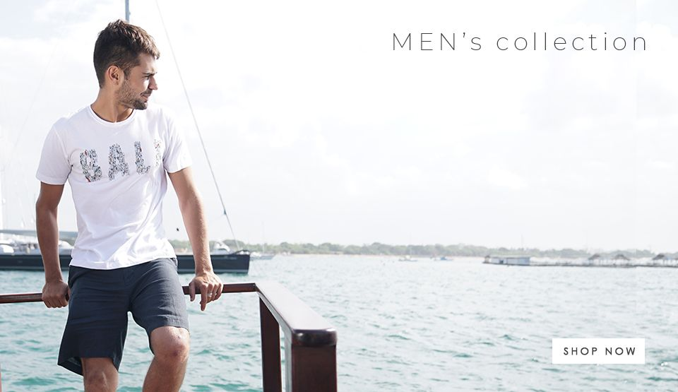 By The Sea Bali Men Collection
