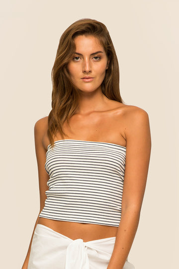 Tube Top short Off White