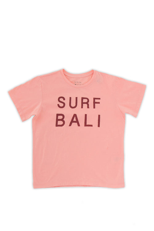 Kids printed T-shirt Orange Surf Bali