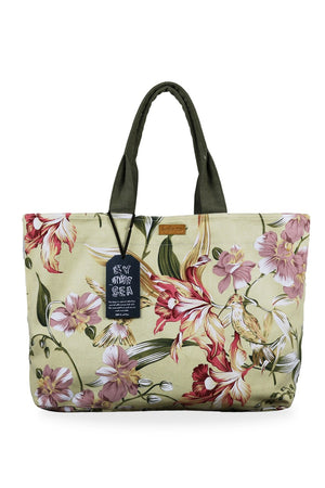 By The Sea Bali Jungle Tote Bag