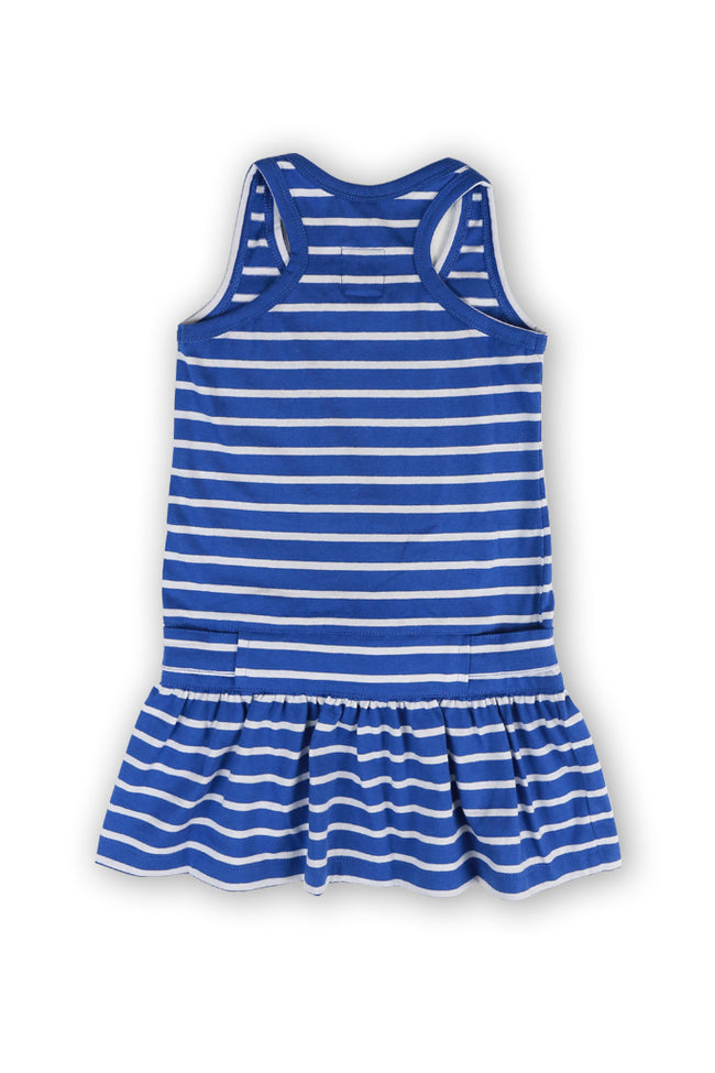 Tennis Litlle Dress Blue Striped