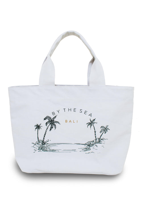 By The Sea Canvas Bag  Grey - By The Sea Bali