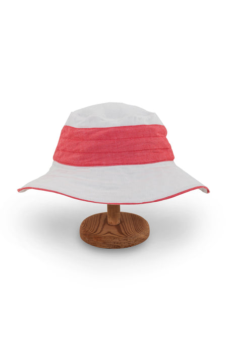 Ladies Wide Brim Hat Pink