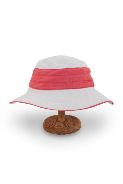 By The Sea Bali Santorini Hat Red