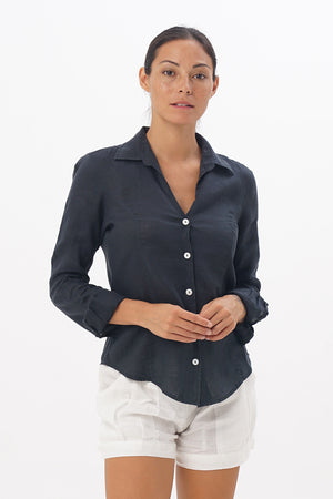 Angra Linen Shirt L/S - By The Sea Bali