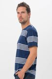 By The Sea Bali Basic Men T-Shirt Navy