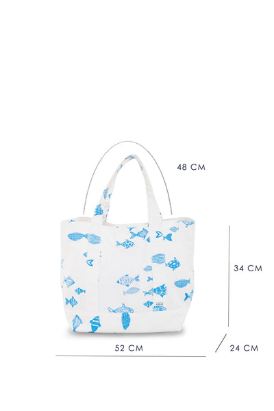 Palermo Bag Fish Motif