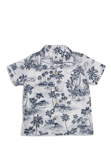 By The Sea Bali Boys tropical Shirt S/S
