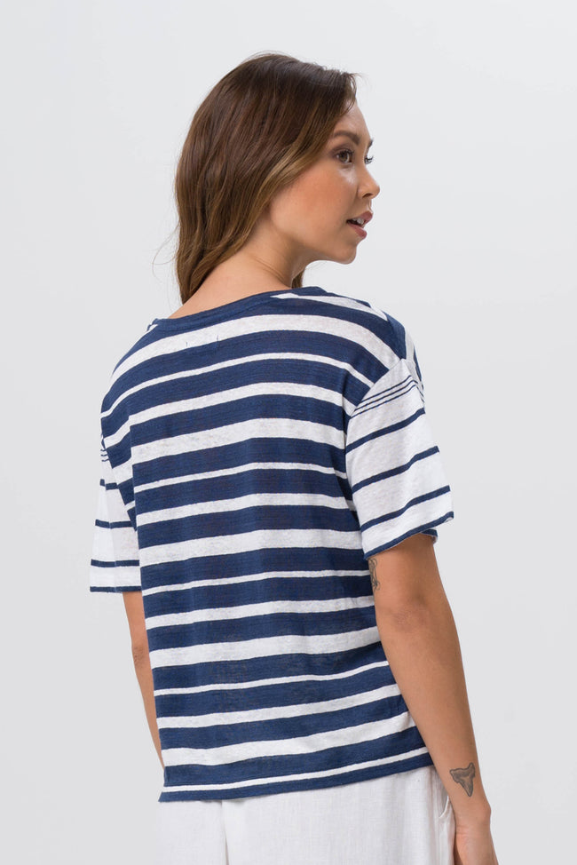 Sail Away Shirt Navy