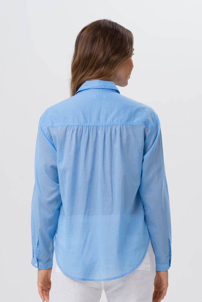Liza Shirt Blue - By The Sea Bali