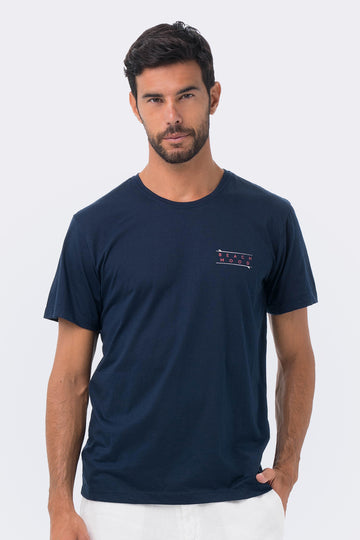 By The Sea Bali By The Sea T-shirt Navy Beach Mood