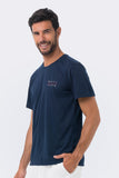 By The Sea T-shirt Navy Beach Mood - By The Sea Bali