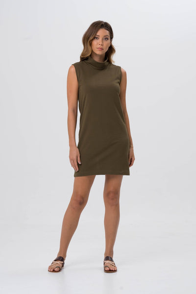 15fee92e93 Formosa Tube Dress Khaki