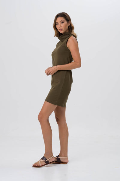 0fc61c0018 ... By The Sea Bali Formosa Tube Dress Khaki