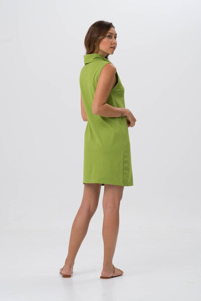 By The Sea Bali Formosa Tube Dress Green