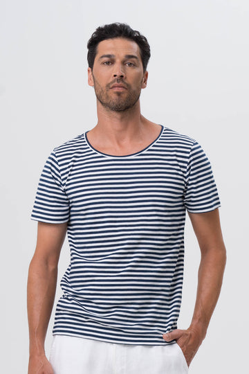 By The Sea Bali Men's Basic T-shirt S/S Navy
