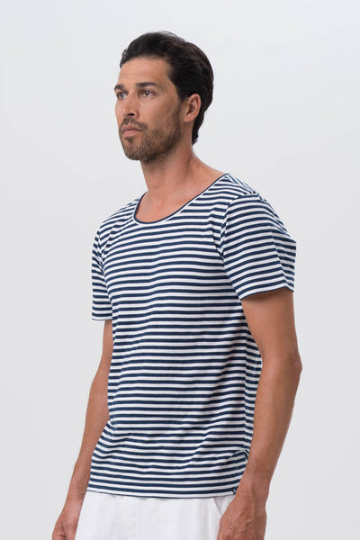Men's Basic T-shirt S/S Navy - By The Sea Bali
