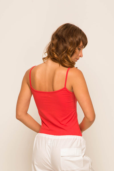 Basic Tank Top Coral - By The Sea Bali