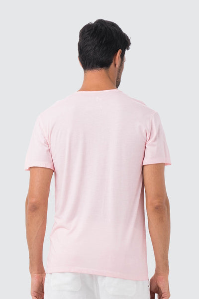 By The Sea Bali BTS Stamp T-shirt Pink