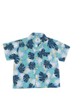 By The Sea Bali Bali Tropical Shirt S/S Blue