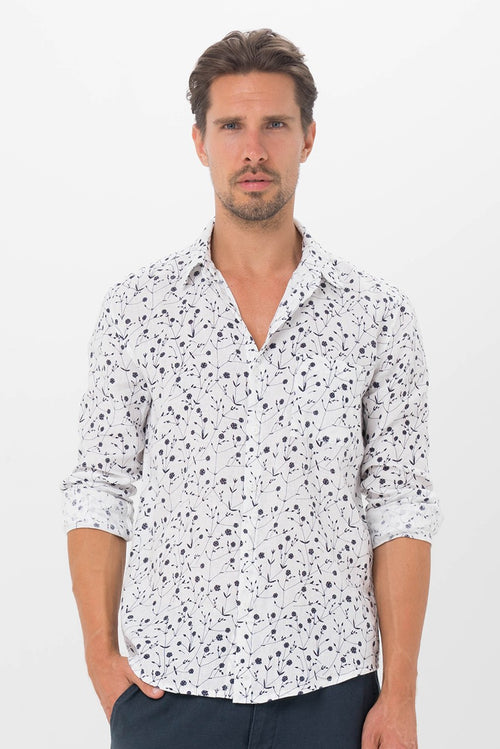By The Sea Bali Bintan Linen Shirt L/S