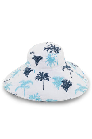 By The Sea Bali Capri Linen Hat