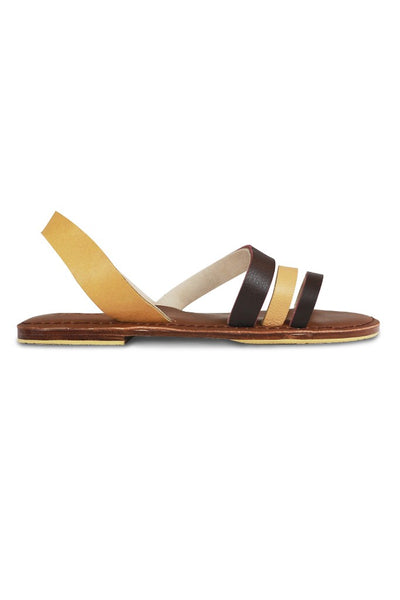 By The Sea Bali Celine Shoes Brown