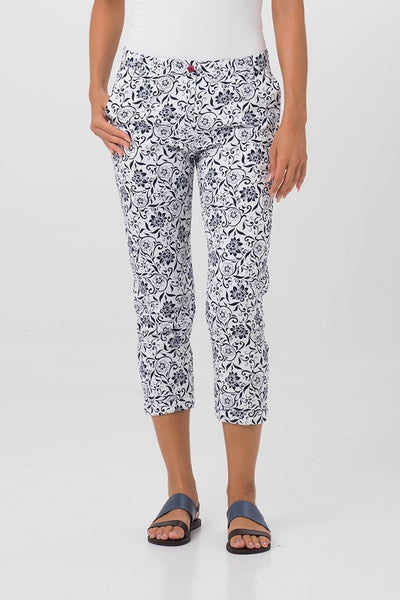 By The Sea Bali Cigarette pants