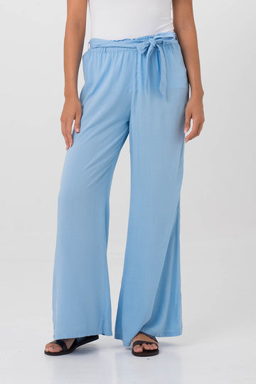 By The Sea Bali Clemence Pants Light Blue