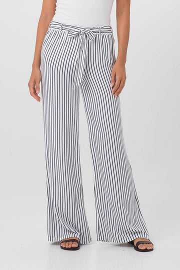By The Sea Bali Clemence Pants Navy Stripes