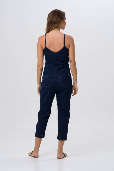 By The Sea Bali Denim Jumpsuit