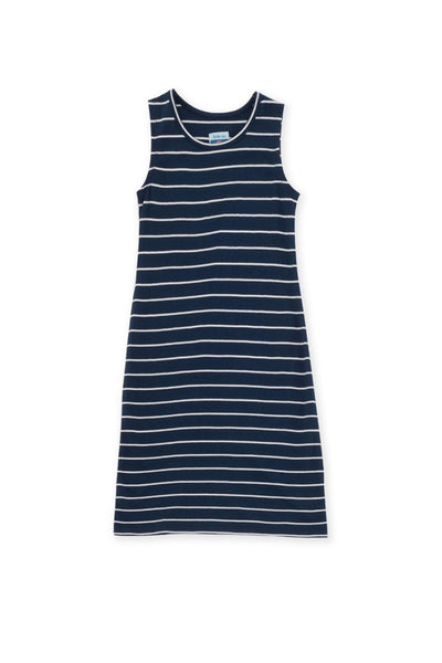 By The Sea Bali Easy Dress Navy