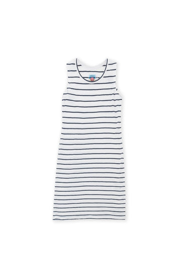By The Sea Bali Easy Dress White