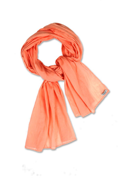 By The Sea Bali Ellis Scarf Peach
