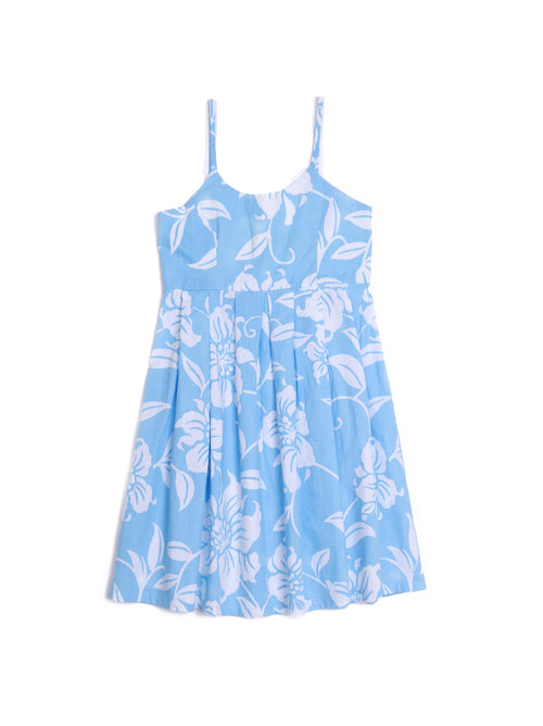 By The Sea Bali Lily Dress Blue