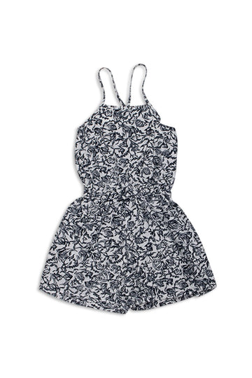 Kids Sleeveless Jumpsuit - By The Sea Bali