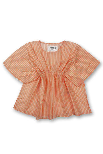 By The Sea Bali Kids Kaftan Peach